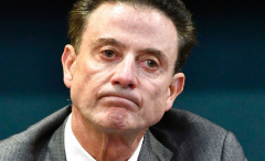 Louisville basketball coach Rick Pitino was fired Monday after the launch of a federal fraud investigation.